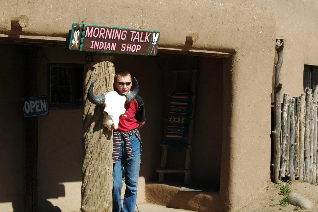 Podróż do Los Angeles. Indiańskie klimaty w Nowym Meksyku.