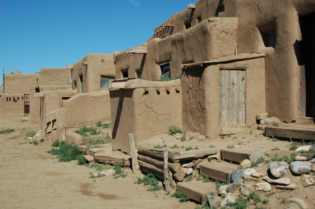Podróż do Los Angeles. Pueblo Indian w Nowym Meksyku 2.