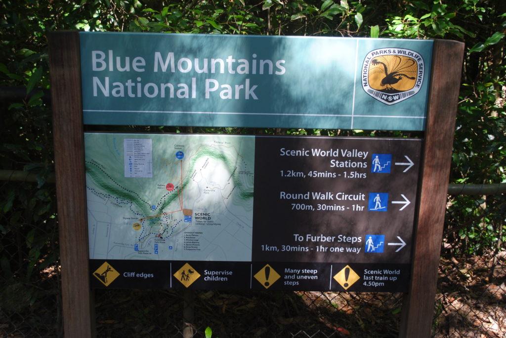 Trzy siostry. Park Blue Mountains zaprasza.