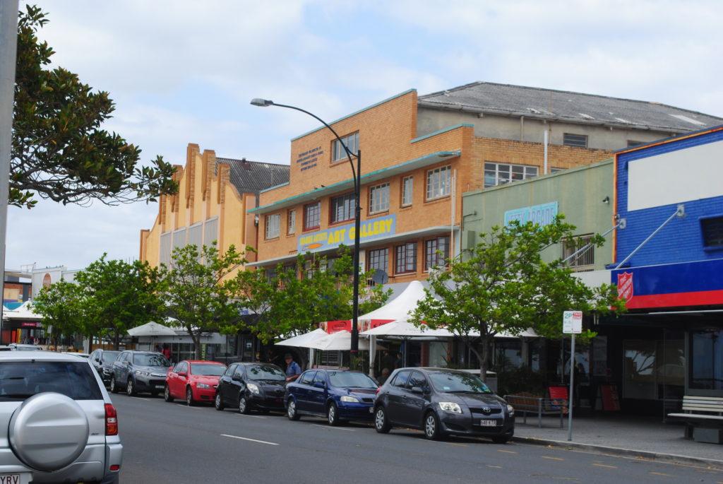 Trzy siostry. Ulica w Katoomba.