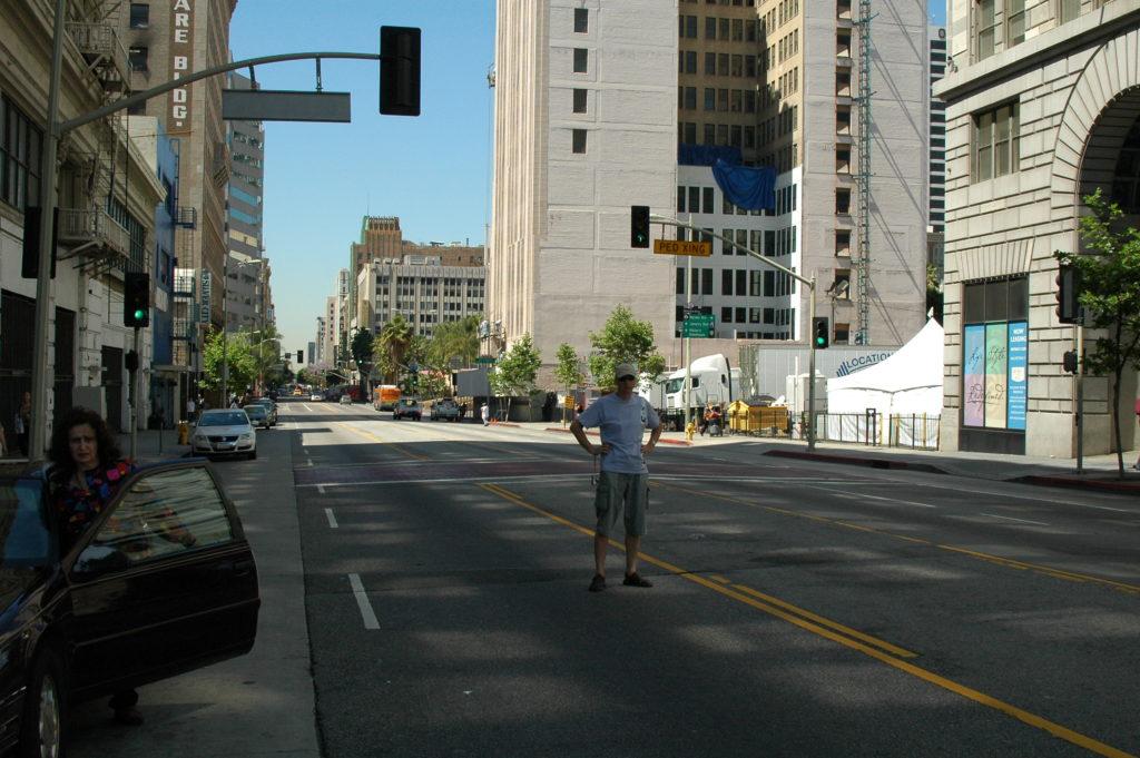 Podróż do Los Angeles. Włóczymy się po ulicach.
