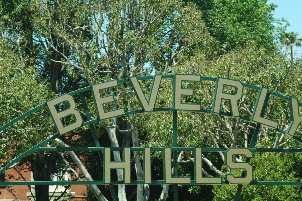 Podróż do Los Angeles. Beverly Hills.