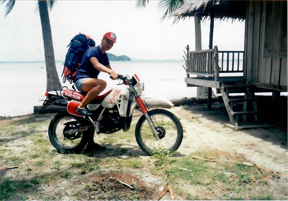 Przygoda w Tajlandii. Motor na Ko Samui.