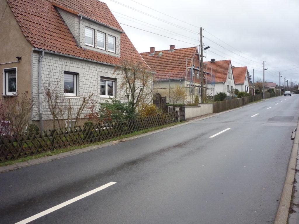 Niemcy Wschodnie. Mała wioska.