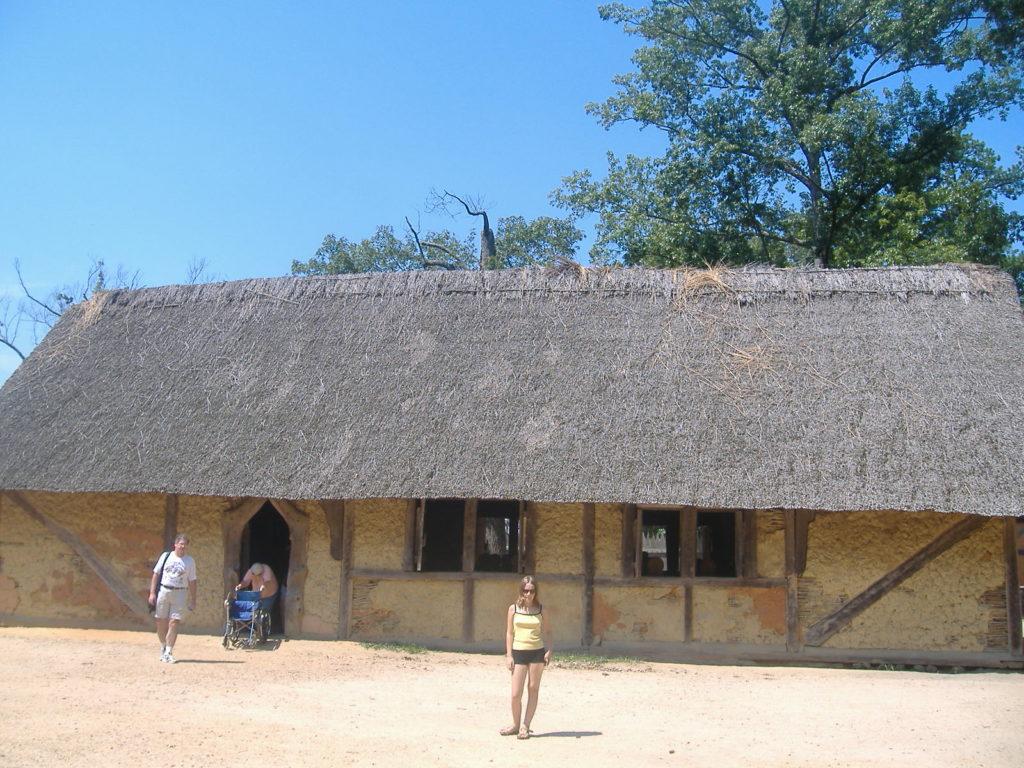 Stan Wirginia. osada w Jamestown.
