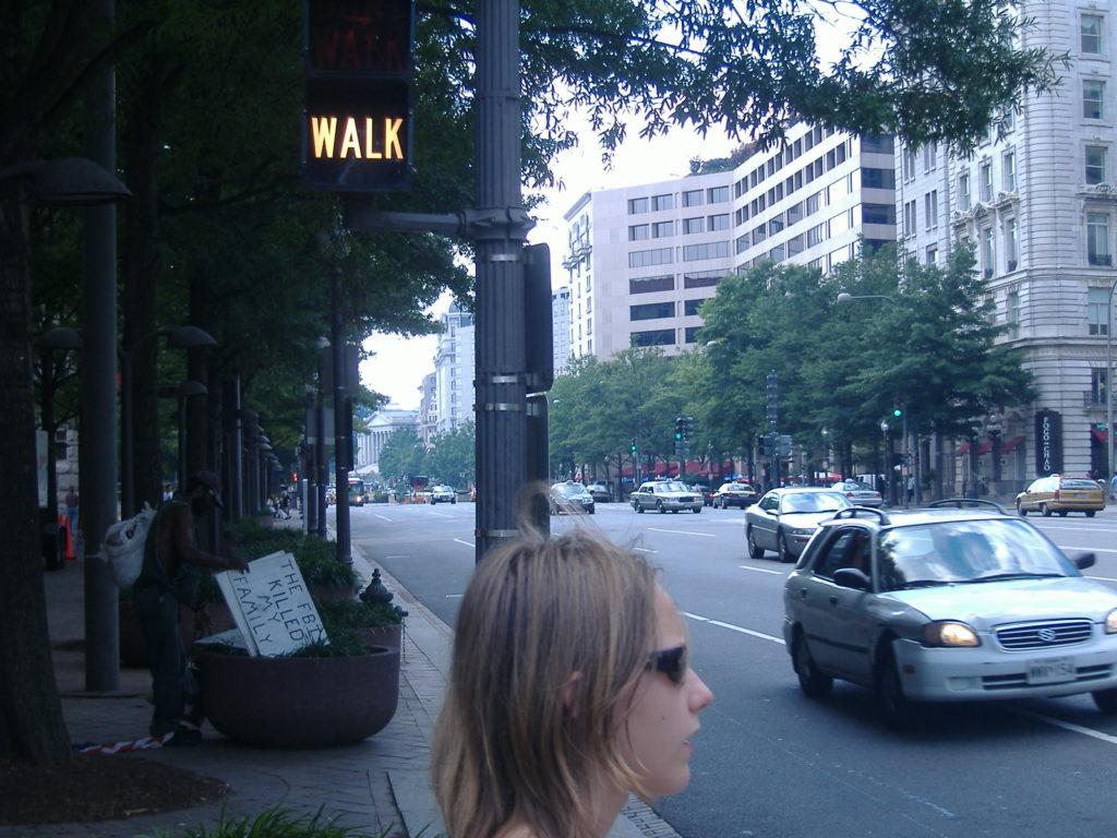 Atrakcje Waszyngtonu. Ulice miasta.