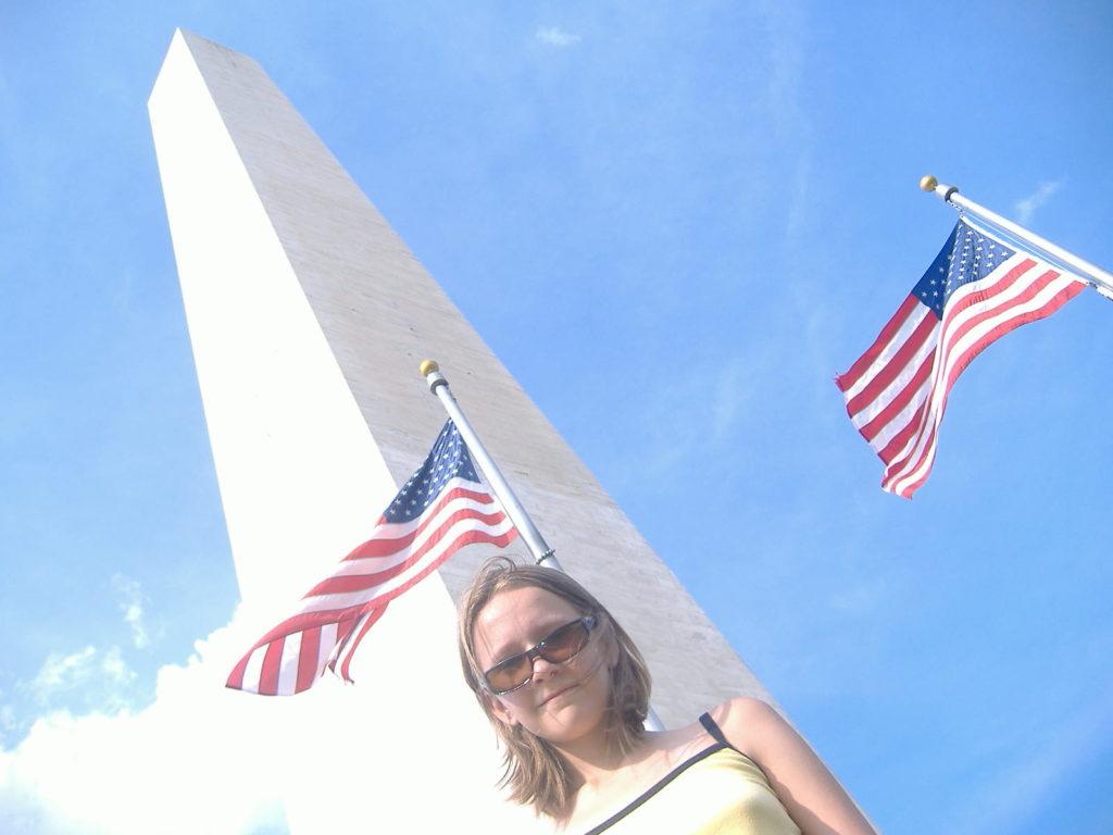 Atrakcje Waszyngtonu. Monument Lincolna.