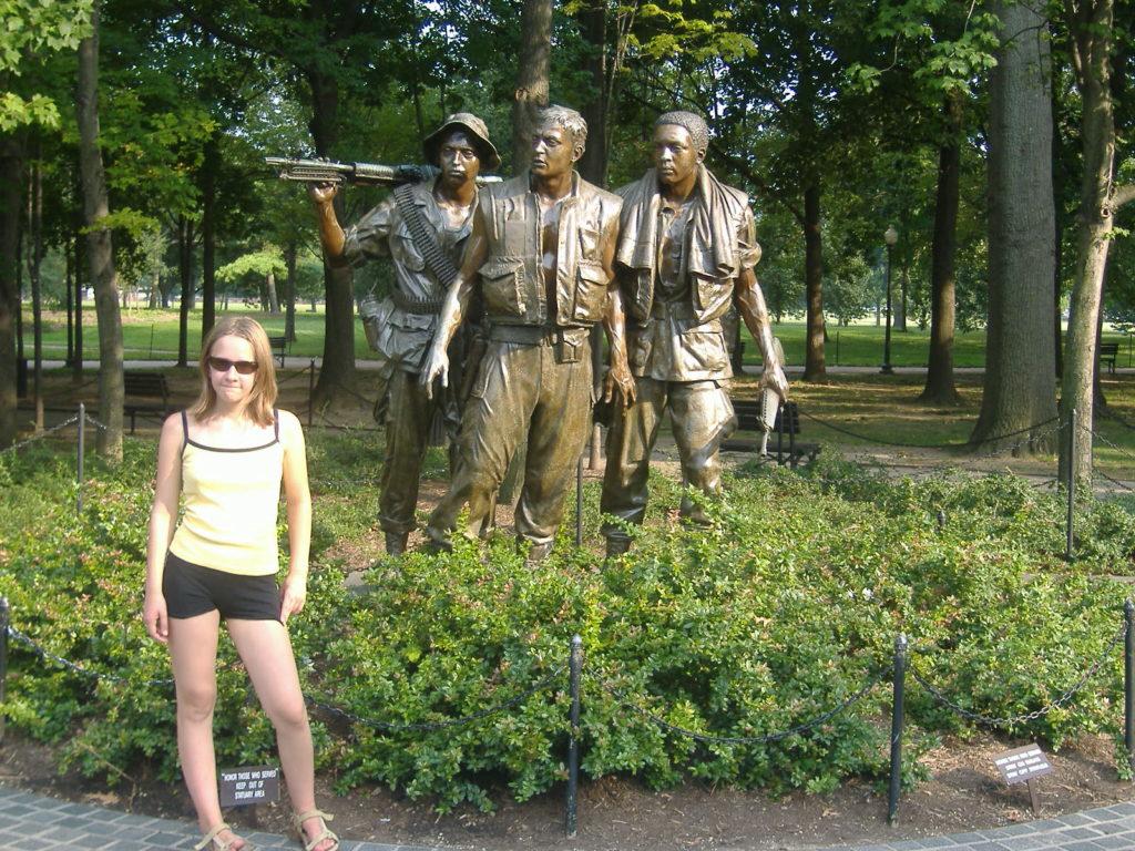 Atrakcje Waszyngtonu. Wietnam.
