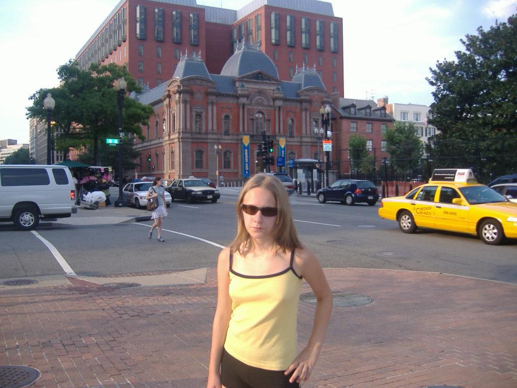 Atrakcje Waszyngtonu. Ulice miasta 2.