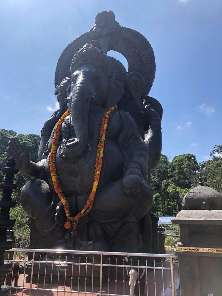 Podróż do Indii. Pomnik słonia.