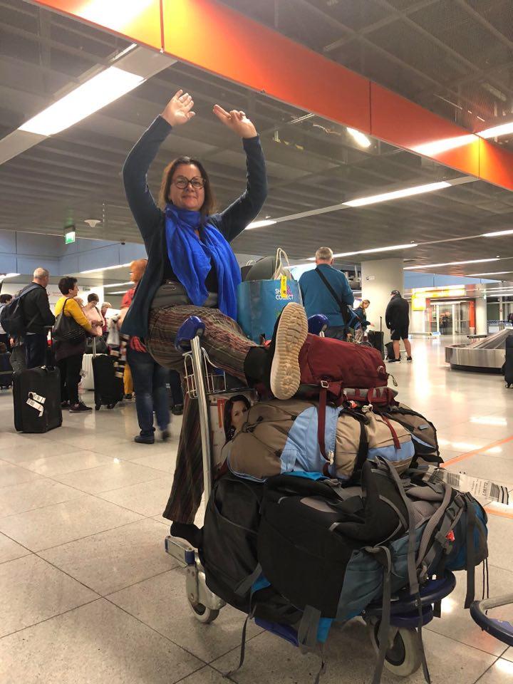 Podróż do Indii. Agnieszka Pacho się cieszy.