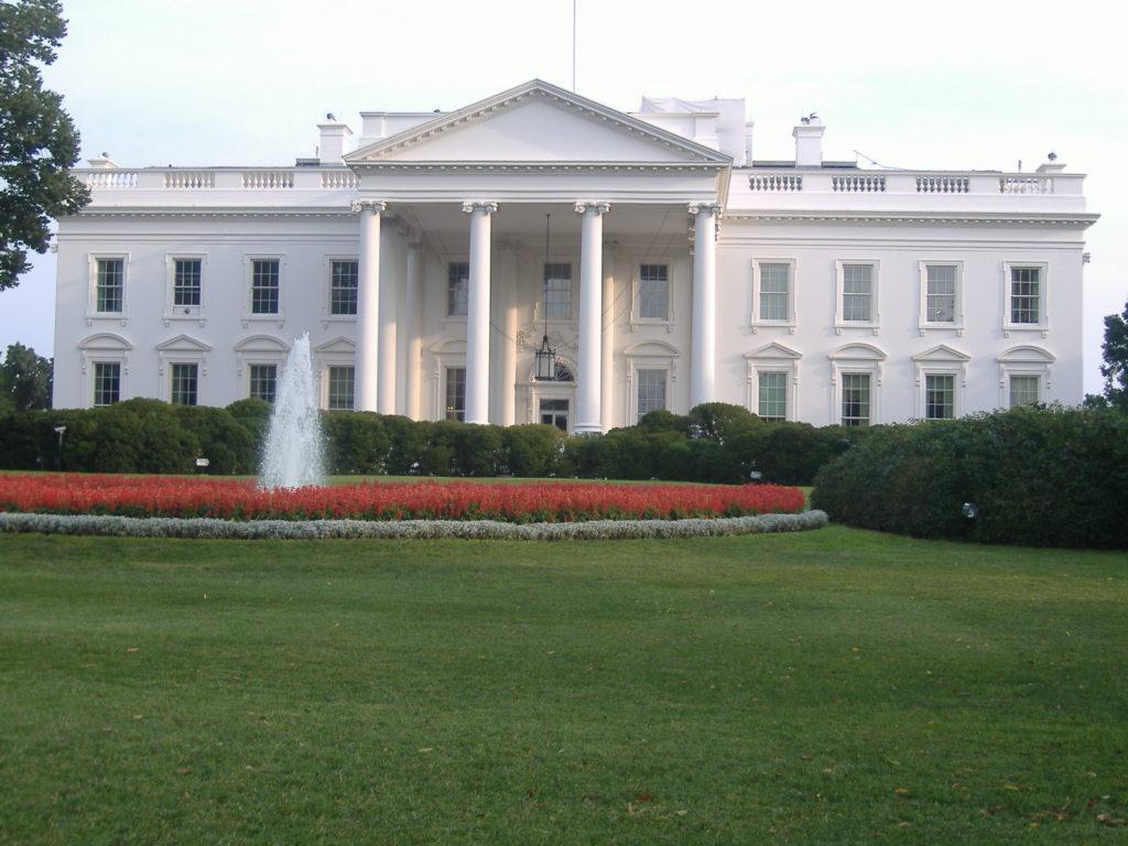 Atrakcje Waszyngtonu. White House.