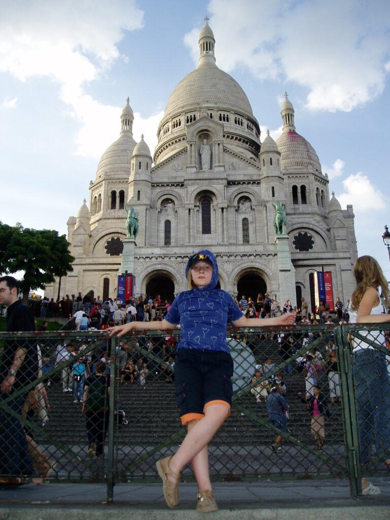 Podróż do Francji. Bazylika Sacre Coeur 1