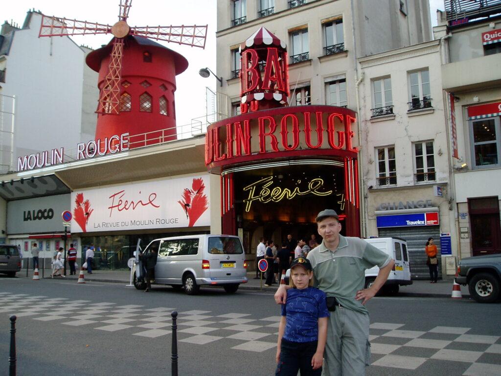 Podróż do Francji. Paryż.