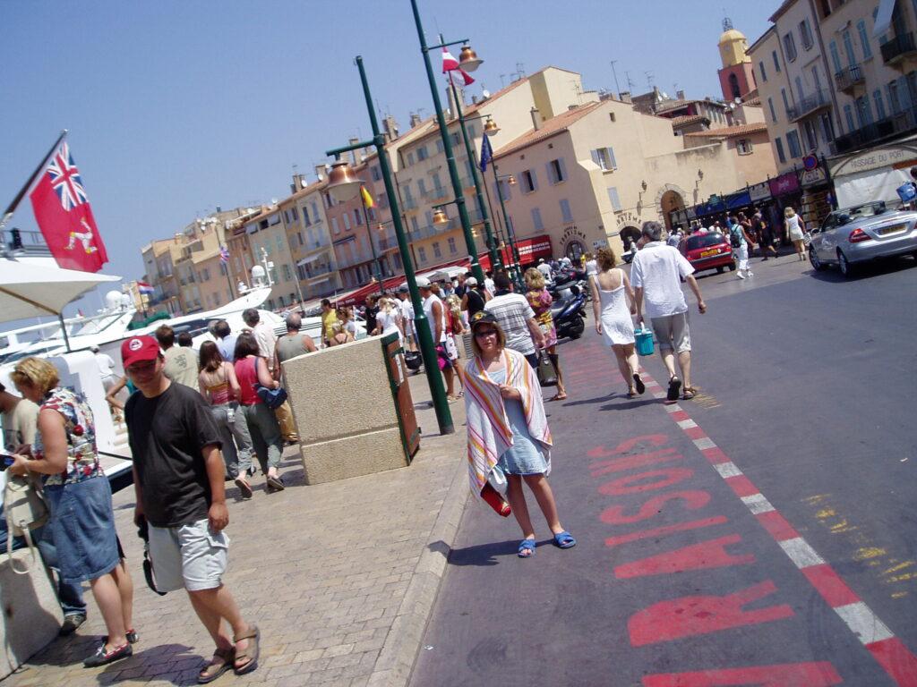 Podróż do Francji. St. Tropez.