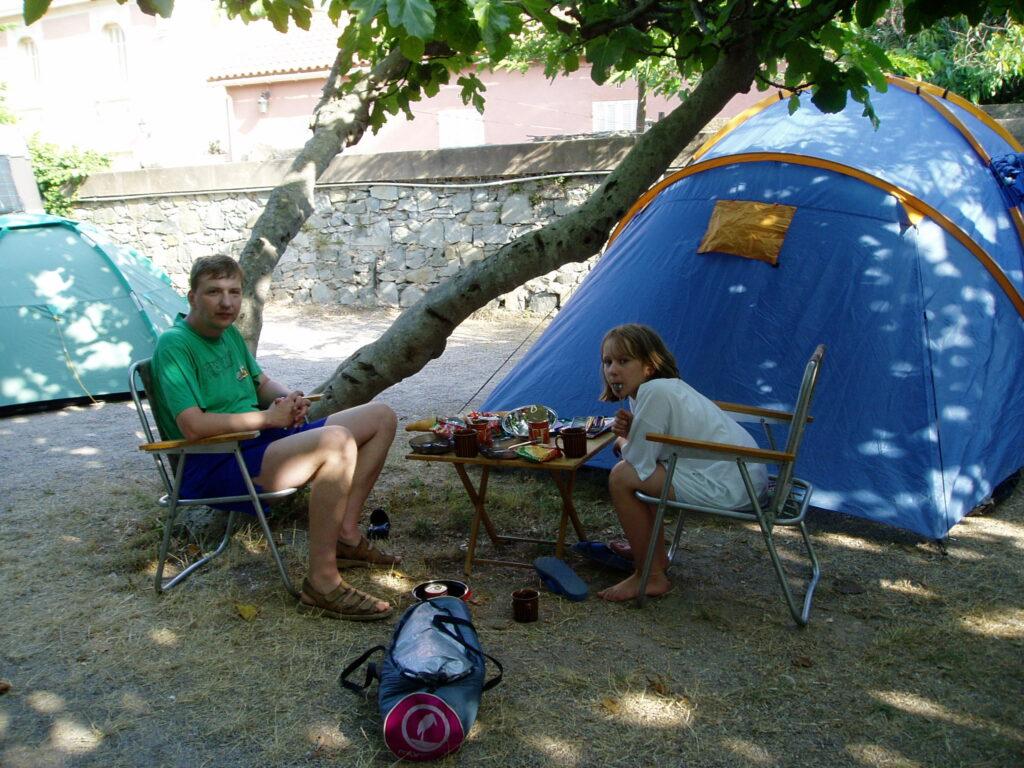 Podróż do Francji. Żywot na campingu.