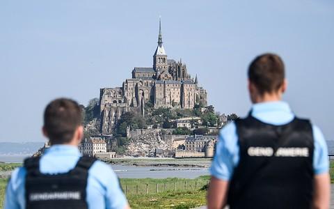Podróż do Francji. Le Mont St. Michel.