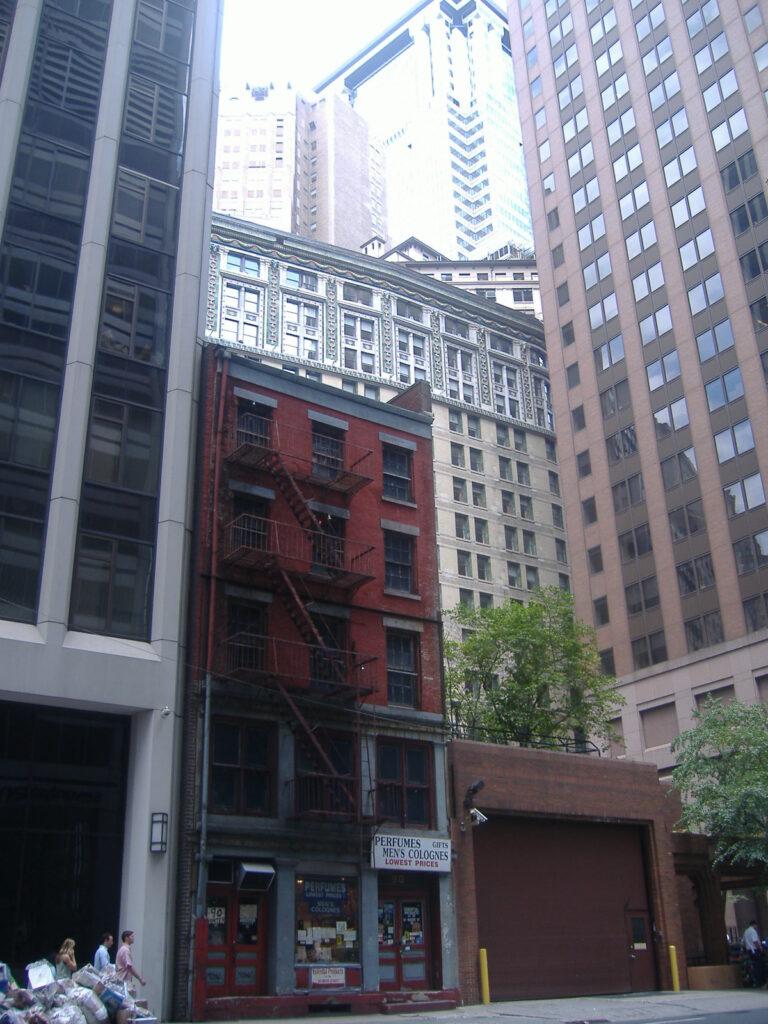 Nowy Jork w USA. Wieżowce na Manhattanie.