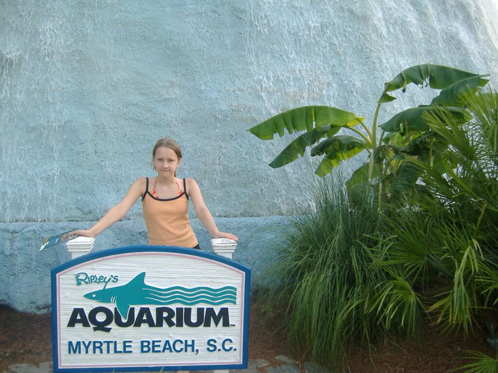Akwarium w Karolinie Południowej