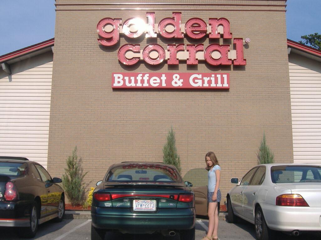 Bufet Golden Corral