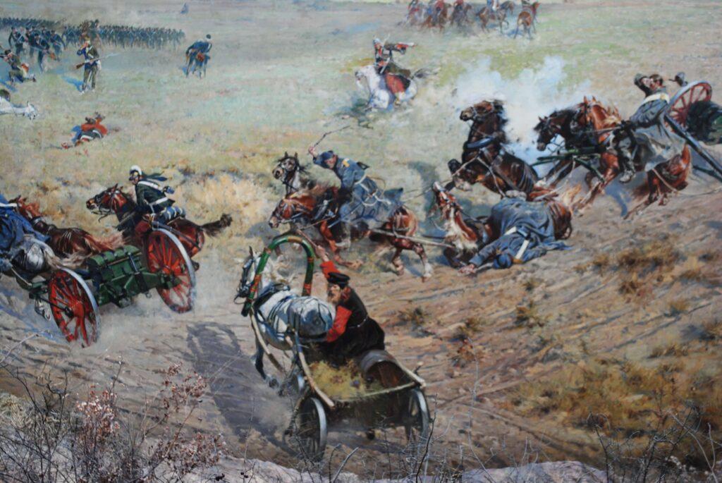 Zwiedzanie Panoramy Racławickiej